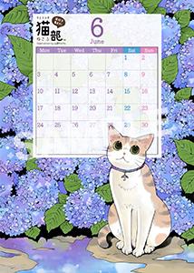 フェリシモ猫部__カレンダー19年6月