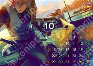 卓上カレンダー 10月 OTTOBRE